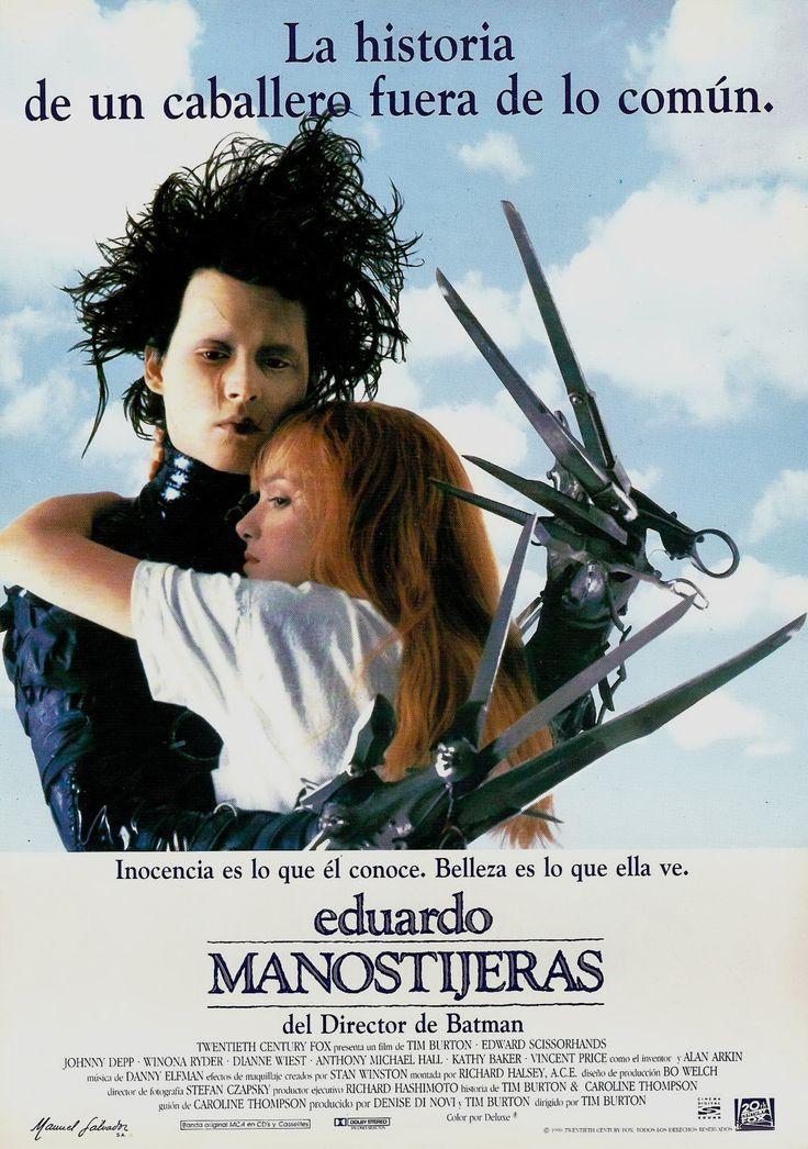 1990 / Eduardo Manostijeras - Edward Scissorhands                                                                                                                                                                                 Más