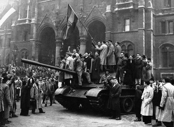 Hungary through its short-lived 1956 revolution had managed to show the world the terrible face of communism and thereby strike a fatal blow on the worldwide communist movement, writes Edith K. Lauer, who witnessed the events in Budapest.