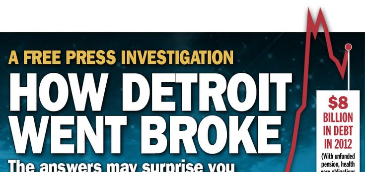How Detroit went broke: The answers may surprise you — and don't blame Coleman Young | Detroit Free Press | freep.com