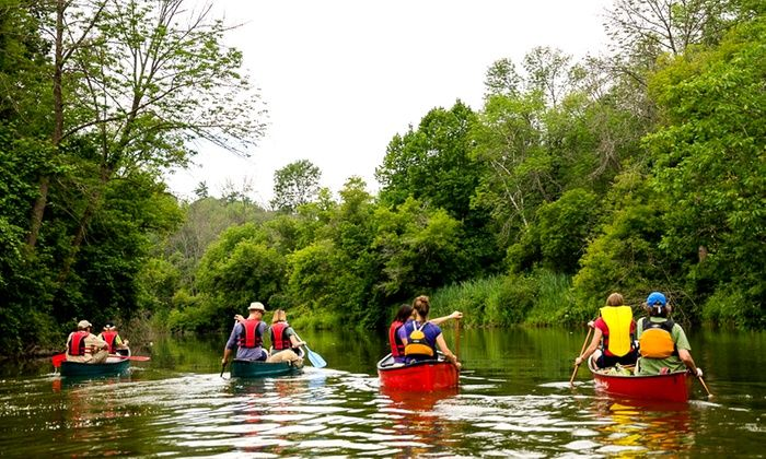 Toronto Adventures Inc. - Toronto: Humber River Regular Canoe or Large Family Canoe Rentals from Toronto Adventures (Up to 20% Off)