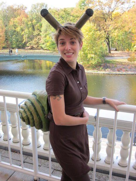 Snail costume