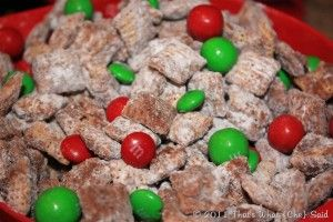 Holiday Puppy Chow Mix!