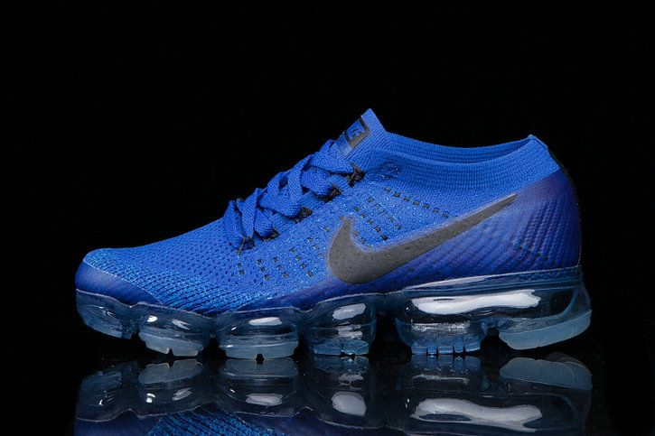 0ac29638af7d Spring Summer 2018 Factory Authentic 2018 NIKE AIR VAPORMAX FLYKNIT Shoes  royal blue black