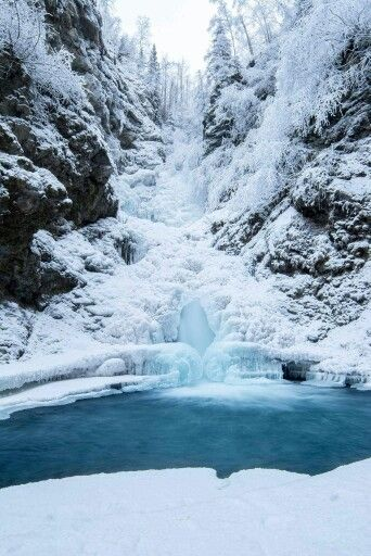 Thunderbird Falls - near Anchorage, Alaska