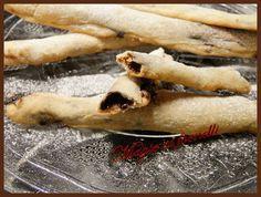 Cornicioni Grissini di pizza alla nutella | Magie ai fornelli