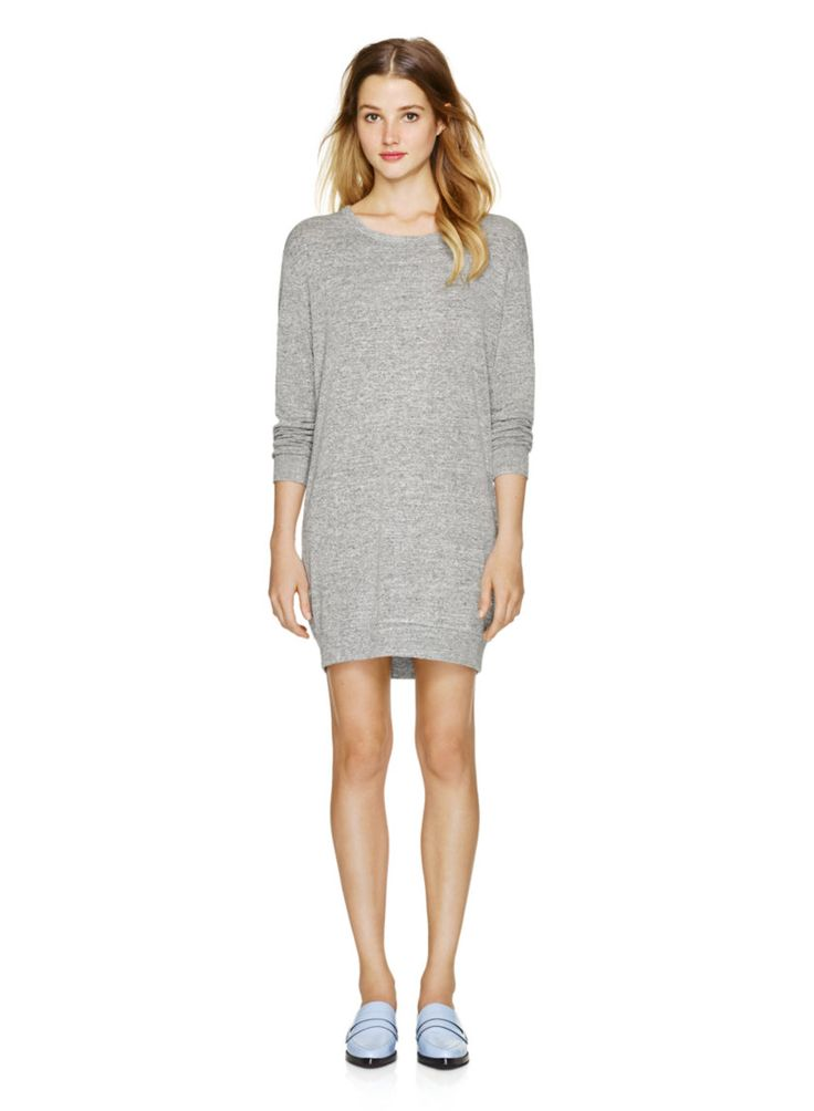 WILFRED FREE STEFFI DRESS - Sweatshirt-inspired in shape and beautifully textured in luxe jersey #ARITZIACLEANSLATE
