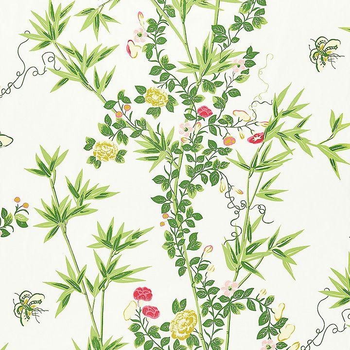 16608 001 Jardin De Chine Spring Scalamandre Fabric Kitchen