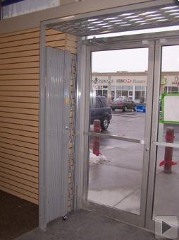 hallway security and door security gates gate