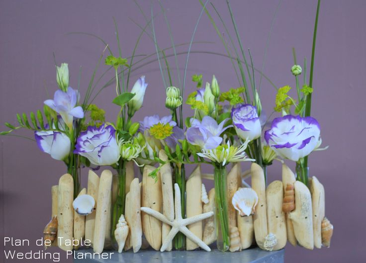 1000 id es propos de centre de pi ce en bois flott sur for Bouquet bois flotte