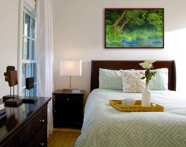 Romantic photo in bedroom