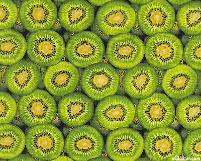 New Zealand Import - Layered Kiwifruit - Jungle Green