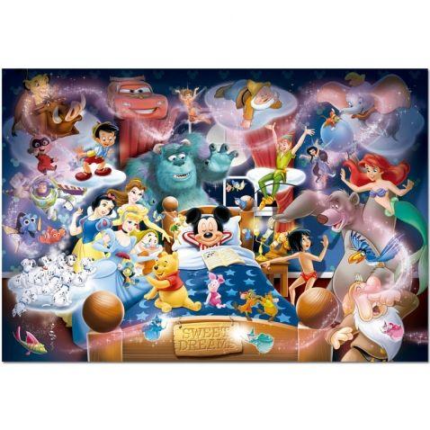 Mickey Mouse - Puzzle s pohádkami od Disneyho, 1000 dílků