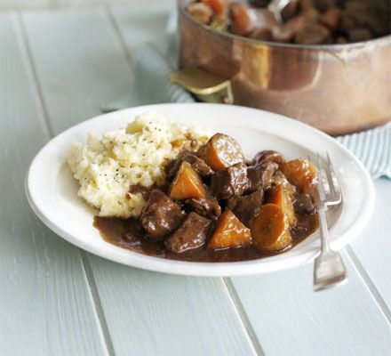 Sweet, slow-cooked melty carrots and beautifully tender meat, this dish is comfort in a pot
