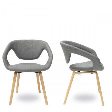 """Pourquoi l'avoir nommée """"Flex back"""" ? Simplement car le dossier de ce petit fauteuil design est flexible pour apporter un confort maximum... Comme son look n'est pas en reste, on en redemande !"""