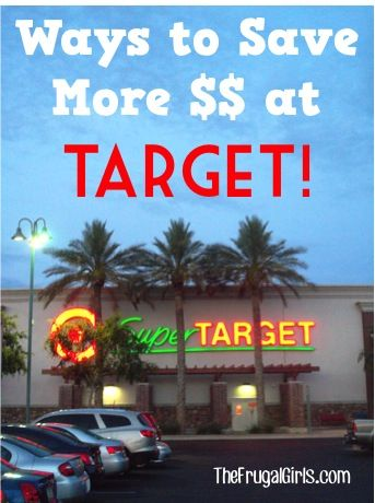 9 Ways to Save More Money at Target! ~ from TheFrugalGirls.com ~ you'll love these simple tips to save BIG! #thefrugalgirls