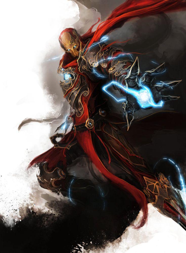 Avengers Medieval Fantasy Geek Art Iron Man Durrrrian