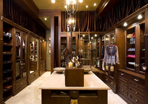 Chic, rich, and luxurious closet design and decor #interior