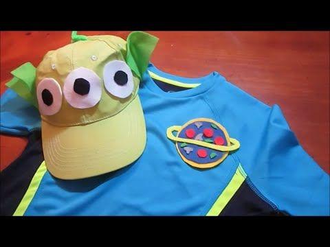 DIY Disney Toy Story Alien Costume | Disneybound Pizza Planet MNSSHP Hal...