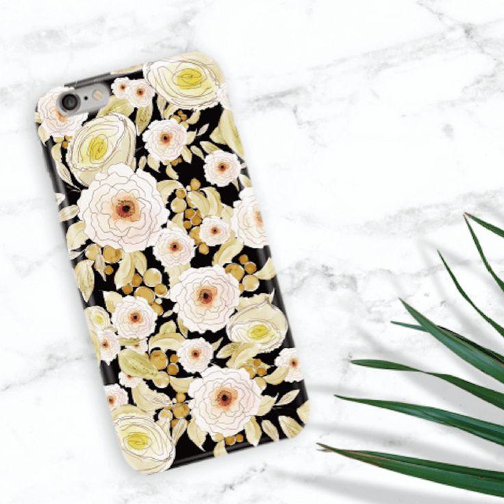 Garden Back Phone Case (UN-1712) - Black