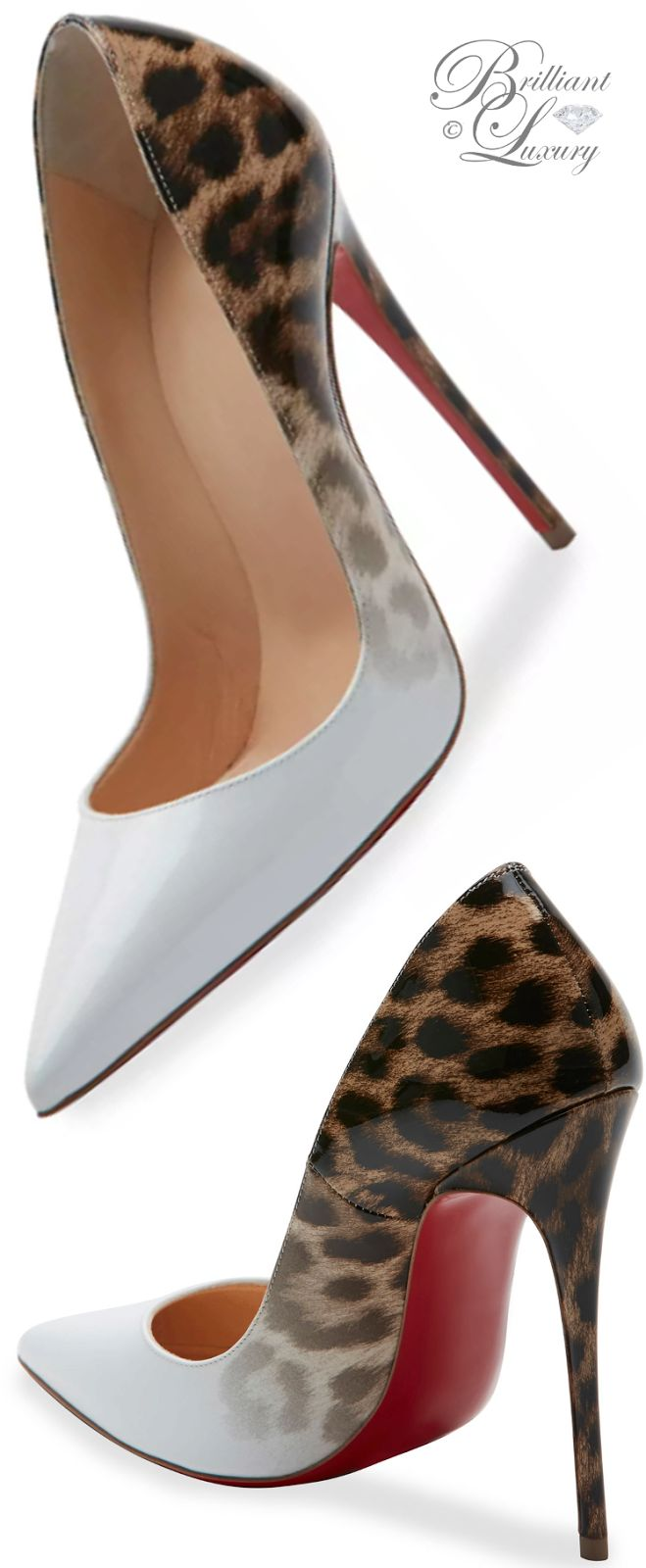 Brilliant Luxury * Christian Louboutin So Kate Degrade 120mm Red Sole Pump