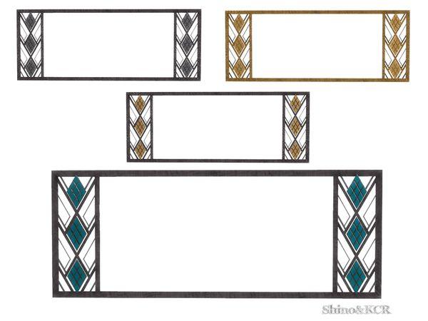 ShinoKCR's Art Deco Home Bar - Mirror