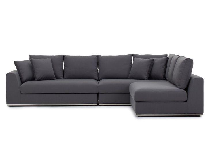 The 25 best modular sectional sofa ideas on pinterest for Sofa modular gris