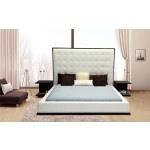 $1,789.00 VIG Furniture - Beth - High Headboard Eco-Leather Bed - VG2TBETH