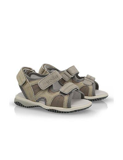 """#HOGAN """"First Steps"""" Spring - Summer 2013 #collection: split leather #sandals."""