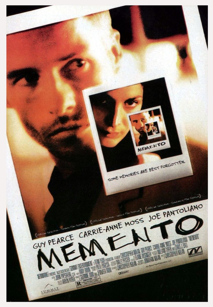 I cannot never forget shivers from reversal in Memento. #memento