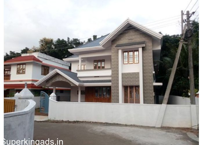 Houses Kochi, 6 cent 2100 sqft new house, 4 bhk, bus stop 50 mtrs, Cochin international Airport 17 kms, Aluva railway station 18 kms, ...