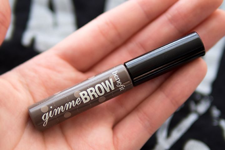 Tiny tube of brush of fibre brow gel works wonders for sparse eyebrows!  Gimme More Brow Goodness | Benefit Cosmetics Gimme Brow | Review, Photos & swatches | Benefit Brow Bar Beauty News ~ The Office Chic