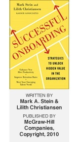 Successful Onboarding: Strategies to Unlock Hidden Value Within Your Organization  by: Mark Stein & Lilith Christiansen