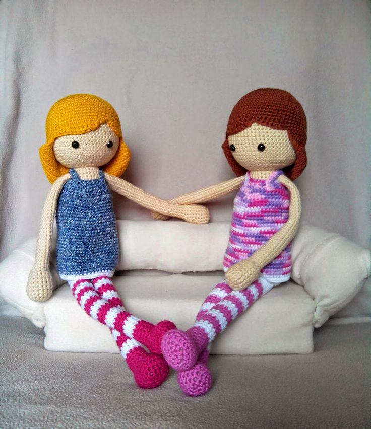 99 best muñecas amigurumi images on Pinterest | Muñeca amigurumi ...