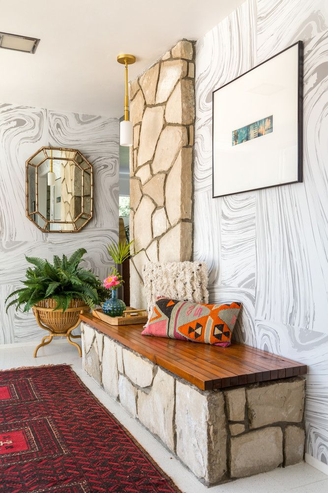 vintage home entryway