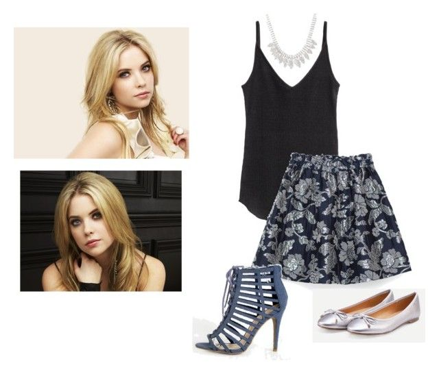 """""""Hanna Marin - PLL"""" by saragrodrigues on Polyvore featuring TOUS and H&M"""