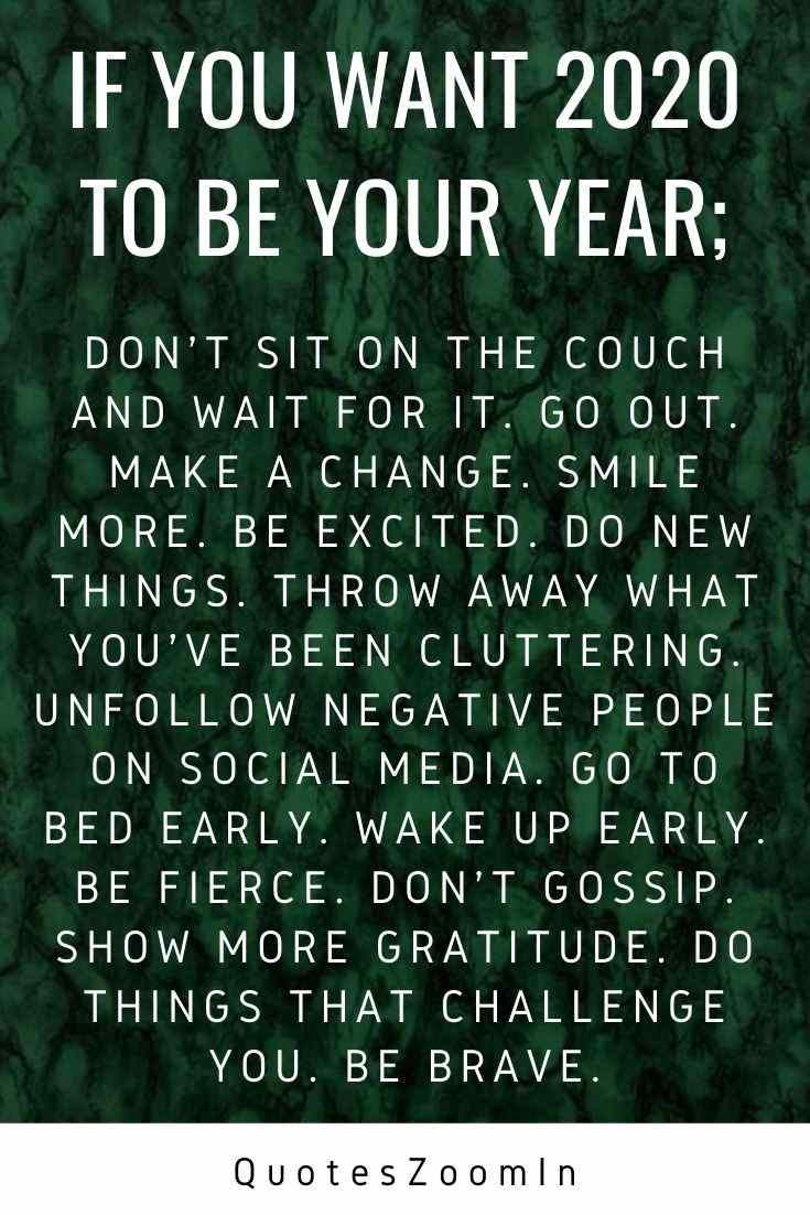 Blessing New Year Quote 2020 For Friends And Family Positive New Year Quotes Quotes About New Year Year Quotes