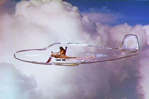 wonder woman's invisible jet. With #transparency, the sky's the limit.  www.clerkbase.com/transparency-defined.php