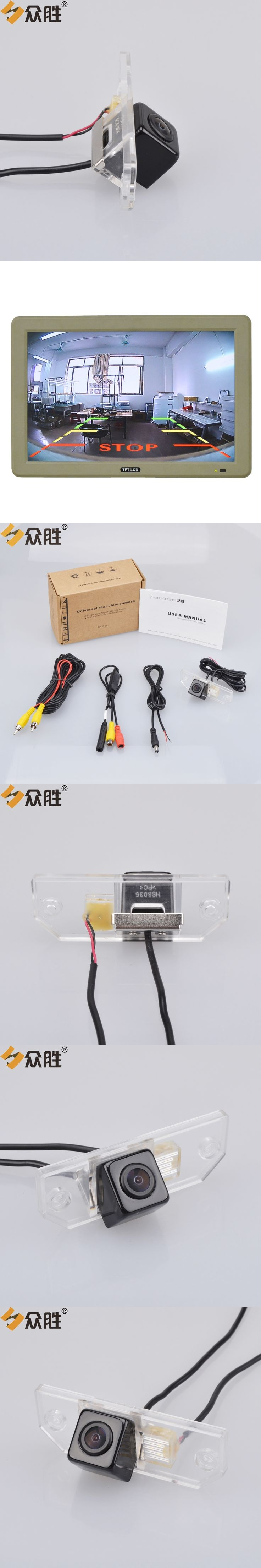 Car Rear View Camera for Ford Focus Sedan C-Max Mondeo Auto Backup Reverse Parking Assistance Rearview Camera Waterproof 8035