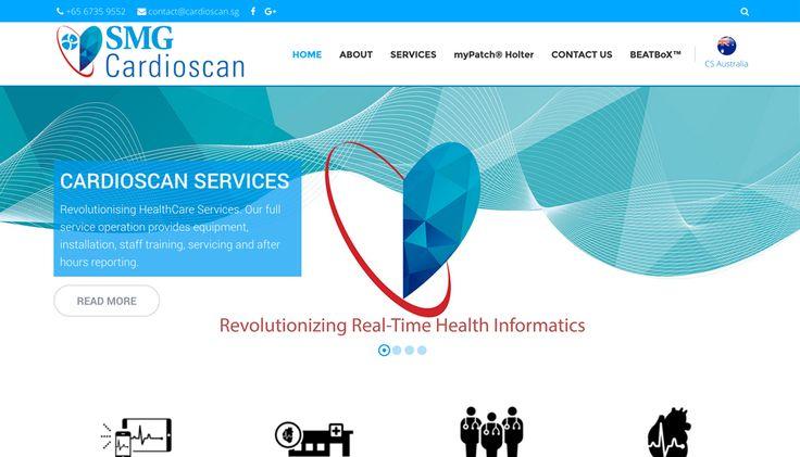 SMG Cardioscan Web Development #inpixelhaus #webdevelopment #responsivedesign #responsive #webdesign #medical