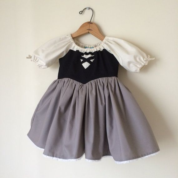 Briar Rose Aurora Inspired Cotton Everyday Princess Dress