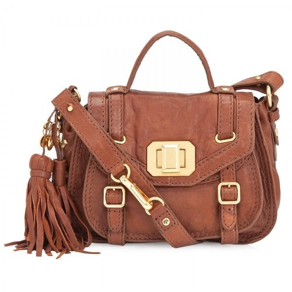 Juicy Couture Small leather satchel ($165) ❤ liked on Polyvore featuring bags, handbags, carteras, purses, women, juicy couture purses, leather handbags, juicy couture handbags, brown satchel purse and brown leather satchel