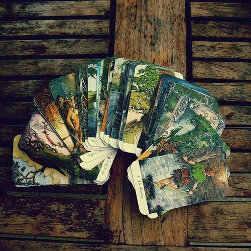 """- """"Wildwood Tarot"""" Illustrator Will Worthington, and Mark Ryan, John Matthews (Authors)."""
