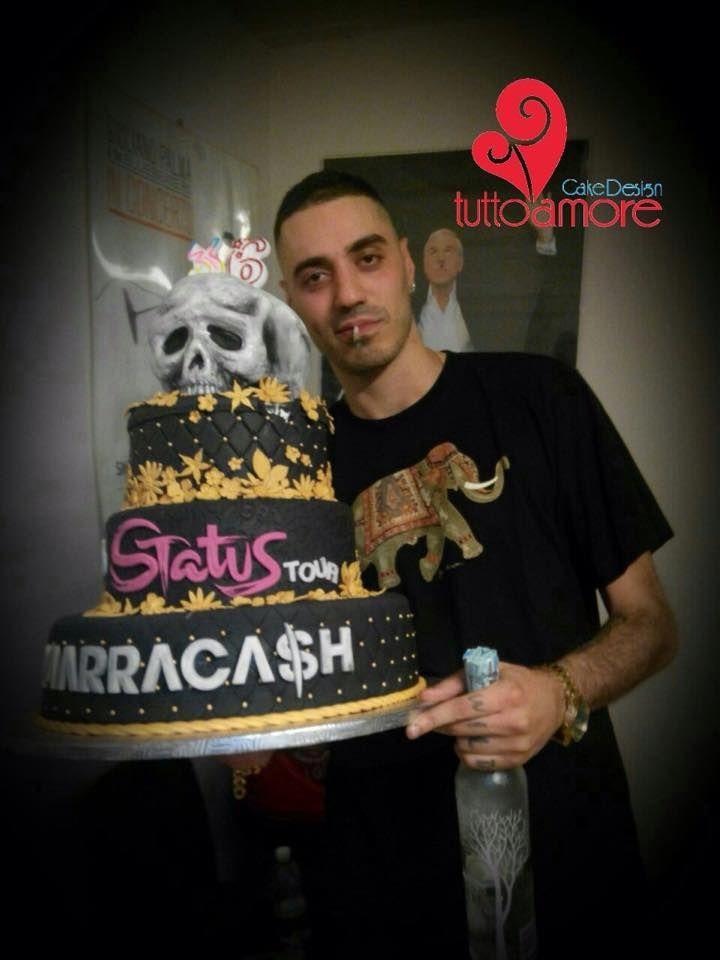 TORTA MARRACASH 36 ANNI, grande artista quindi grande torta..!!