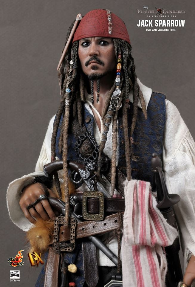 Pirates of the Caribbean: On Stranger Tides - Jack Sparrow - Hot Toys
