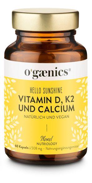 Ogænics® B-Happy natürlicher Vitamin-B Komplex - 100% vegan und biozertifiziert