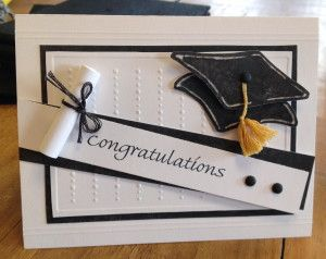 Kaye - Grad Card with Scroll