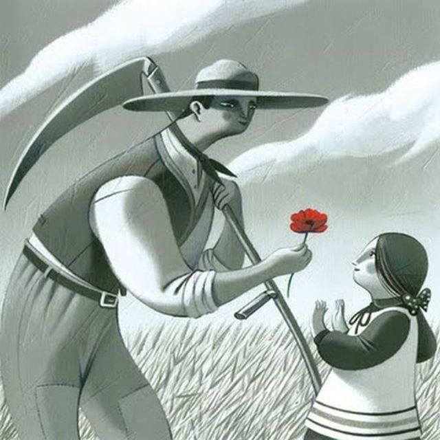"""""""Ovunque l'uomo porti il suo lavoro, vi lascia anche qualche cosa del suo cuore"""".  Buon primo maggio!"""