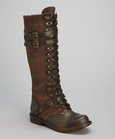 Talia Leather Boot by ZiG