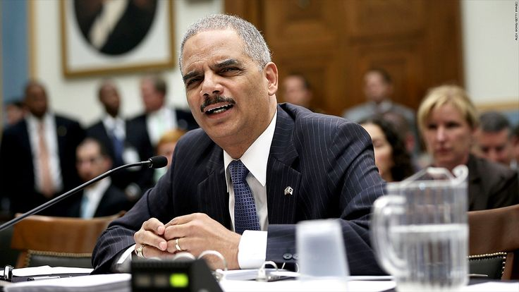 Attorney General Holder says that Justice is probing whether high frequency trading violates insider trading laws.