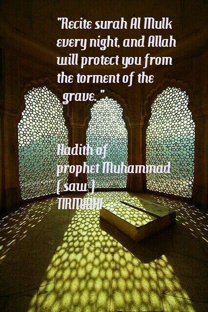 Read Surah Al Mulk Quran/ Hadith/ Islam